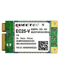 Quectel EC25-V miniPCIe - optimized LTE Cat 4 Module ver EC25-V Verizon