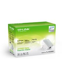 TP-LINK TL-PA4010 kit AV500 2*Nano PowerLine Ethenrnet Adapters,500Mb/s