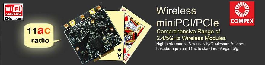 Wi-Fi modules PCIe / M2M
