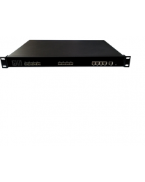 Wodaplug ® 1U4PGE 1U 4PON GEPON OLT, Chipset Cortina CS8032, WEB, CLI, SNMP management