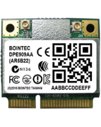 DPE909AA Bointec 802.11 abgn + BT4.0 , AR9462 , miniPCIe , 2T2R, with BT4.0 Combo mini PCIe