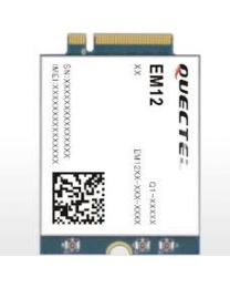 EM12-G EM12GPA-512-SGAD Quectel LTE-A M.2 - optimized LTE advanced 3 x CA Cat 12 Module  ( global ), 5G+ ready