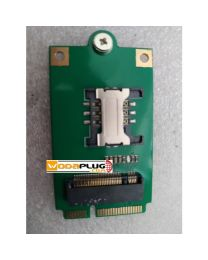 M.2 B Key to Mini PCI-E Adapter Converter Card with SIM Card Slot for Sierra Wireless modem or SIM by wodaplug.com