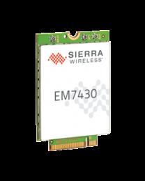 EM7430 AirPrime Sierra wireless Module M.2, CAT 6 LTE, DC-HSPA+, HSPA+, HSDPA, HSUPA, WCDMA, GSM, GPRS, EDGE, CDMA, GNSS