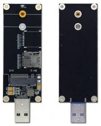 Wodaplug M.2 (NGFF ) to USB 3.0 Computer Adapter with SIM Card Slot for LTE 5G 4G Modules