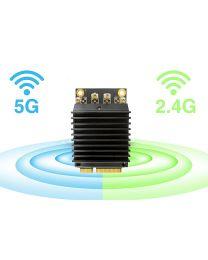Compex WLE1216VX 2,4 / 5GHz 4×4 Dual Band MU-MIMO 802.11ac Wave 2 Module, 20dBm, QCA 9984 chip, miniPCIe 2.0