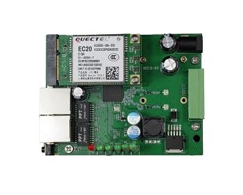 main board with module