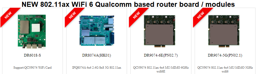 wifi6 802.11ax from Qualcomm